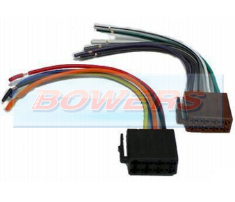 AIS2030 ISO To Bare Wire Harness Adaptor
