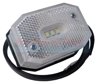 FT-001BLED White Front Marker Light