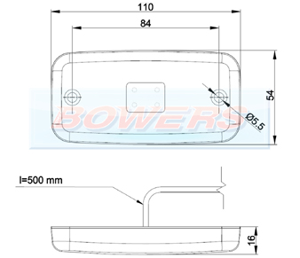 LED Marker Light FT-019 Schematic
