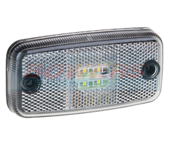 White LED Front Marker Light FT-019BLED