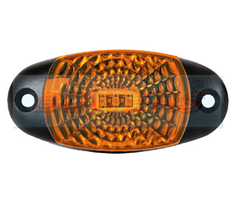 Amber Oval LED Marker Lamp FT-025Z