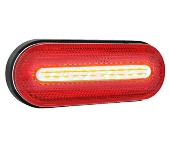 Red LED Rear Marker Light FT-070CLED