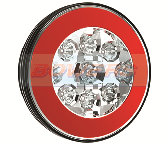 Glow Ring LED Hamburger Fog Lamp FT-111