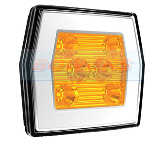 Neon LED Square Front Combination Lamp FT-125