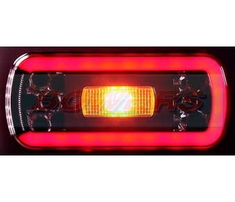 Glow Trac LED Rear Combination Lamp + Reverse FT-130 COF LED 3