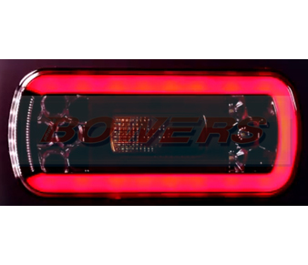 Glow Trac LED Rear Combination Lamp + Reverse FT-130 COF LED 2