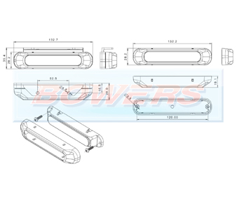 Daylight/Daytime Running Lights FT-300LED Schematic