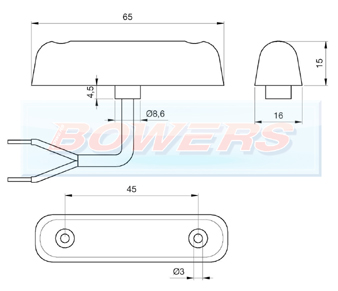 Jokon PL24-2 S24-2 LED Marker Light Schematic