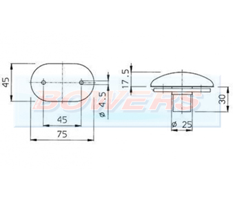 Jokon PL2000 S2000 Marker Light Schematic