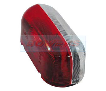 Jokon SPL2000 12.0012.000 Red White End Outline Side Marker Light