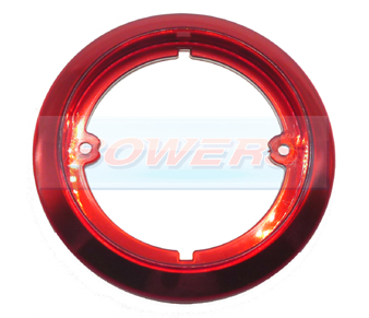 Jokon 710 95mm Round Red Outer Trim Ring Bezel