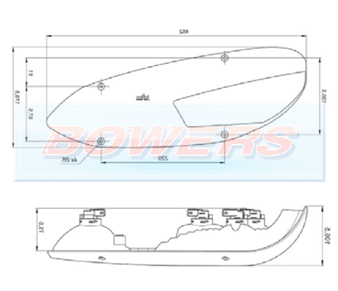 Jokon L3000 10.2200.021 Rear Right Hand Caravan Light Schematic