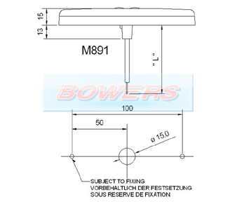 Rubbolite M891 LED Marker Light Schematic