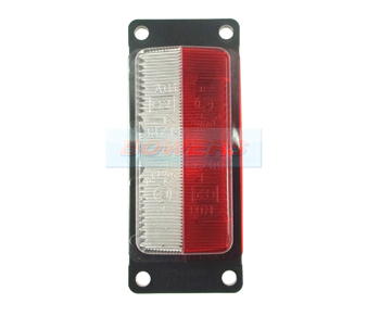 Vignal 188710 FE88 Red/Clear Marker Light