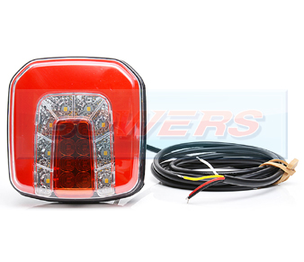 WAS W146 Neon Square LED Rear Combination Light 2