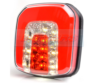 WAS W146 Neon Square LED Rear Combination Light
