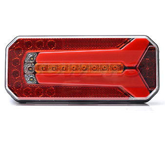 WAS W1123DDL/P Neon LED Rear Combination Light With Dynamic Indicator 2