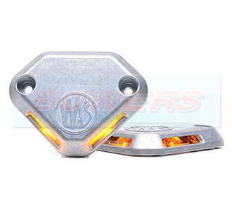 WAS W152 Amber LED Tail Lift Warning Light