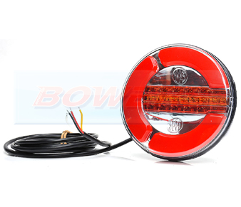 WAS W153 Neon LED Rear Hamburger Light With Dynamic Indicator 2
