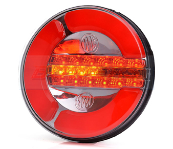 WAS W153 Neon LED Rear Hamburger Light With Dynamic Indicator