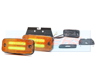 WAS W158 LED Amber Cat 5 Combined Marker/Indicator Light