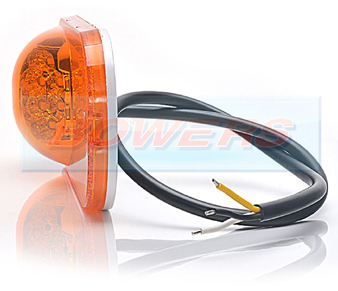 WAS W161 Cat 6 LED Amber Side Marker / Indicator Light 3