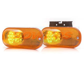 WAS W161 Cat 6 LED Amber Side Marker / Indicator Light