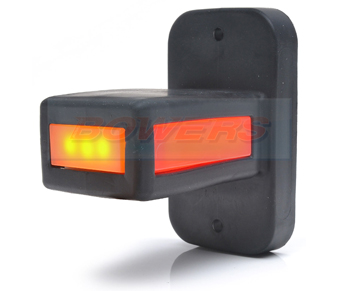 WAS W168.3 LED Red White Amber End Outline Marker Light