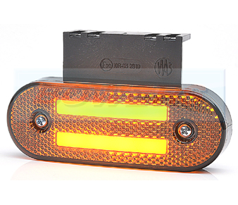 WAS W175 LED Amber Cat 5 Combined Marker/Indicator Light