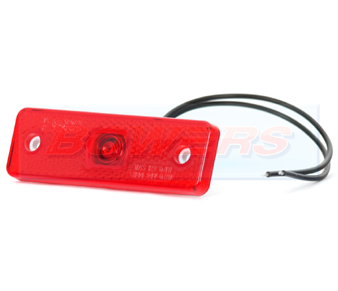 WAS W44 LED Red Rear Marker Light