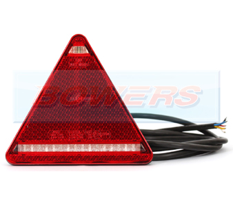 WAS W68 Triangle LED Rear Combination Light Off