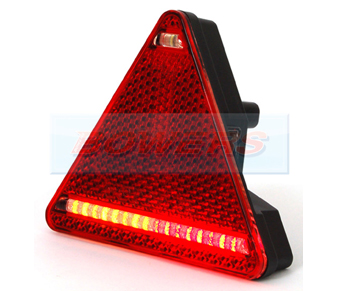 WAS W68L Triangle LED Rear Combination Light