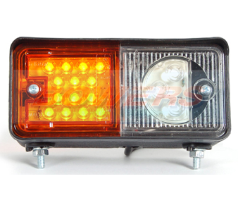 WAS WO6DP LED Front Combination Light