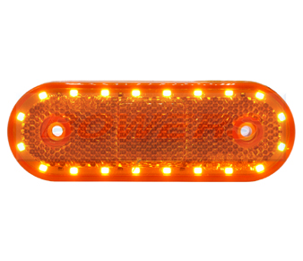 WAS W47WW LED Amber Side Marker Light