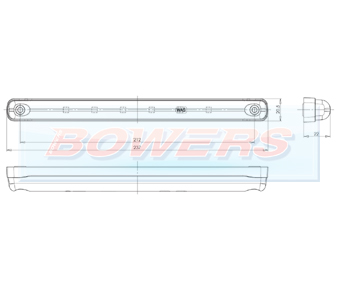 WAS W87 LED Brake Light Schematic