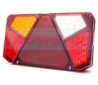 WAS W125DL LED Rear Combination Light