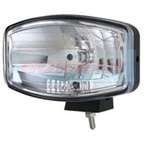Boreman Solas 1600 Clear Lens Oval/Rectangular Driving Spot Light/Lamp