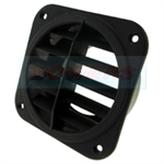Eberspacher/Webasto Heater Black Rotating Air Outlet for 75mm Ducting 221050892100