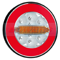 12v/24v Universal LED Glow Ring Rear Combination Hamburger/Cheeseburger Tail Lamp/Light from H Bowers who specialise in automotive components. Order online with next day delivery available in the UK.