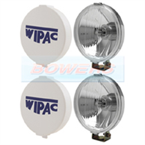"Wipac S6007 5 1/2"" Inch Chrome Classic Mini Spot Lights Lamps Driving Lights"