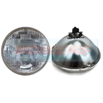 "7"" Genuine Sealed Beam Classic Car Domed Lens Headlight / Headlamp"