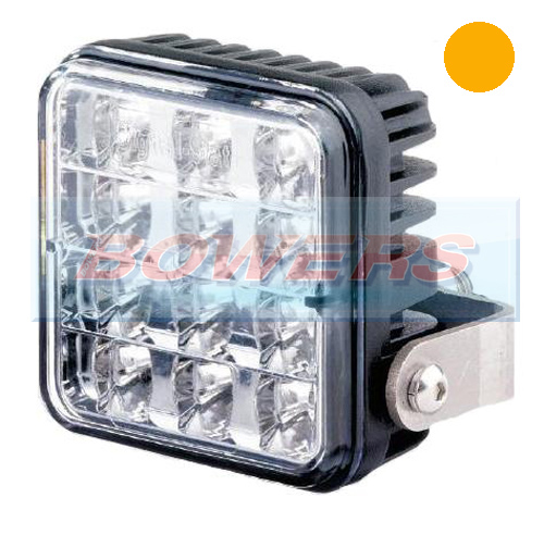 Truck-Lite 155/03/00 12v/24v LED Amber Strobe/Warning/Hazard Lamp/Light