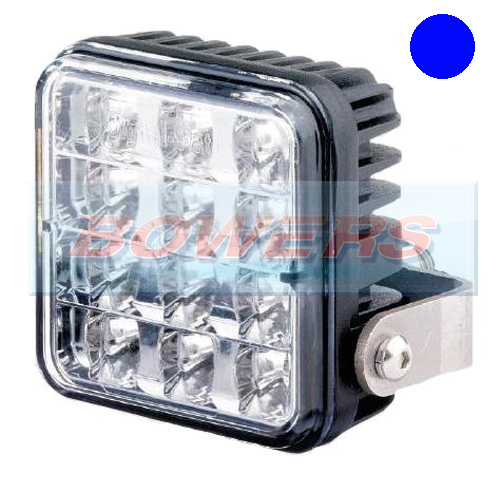 Truck-Lite 155/13/00 12v/24v LED Blue Strobe/Warning/Hazard Lamp/Light