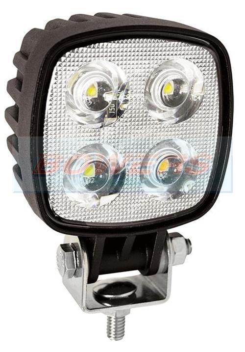 Led Autolamps 8112bm 12v 24v Square 4 Led Work Lamp Light