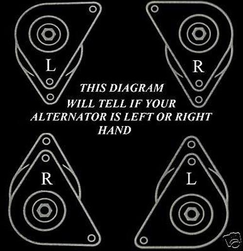a127 alternator left/right diagram