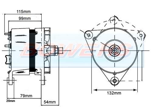 a127 alternator schematic