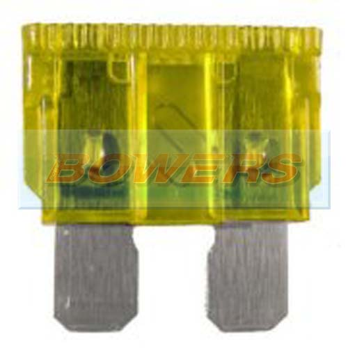 Standard Blade Fuse 10 Pack 20amp Yellow