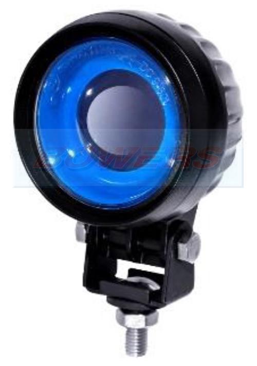 Forklift Truck Blue Arrow Led Warning Spot Light H Bowers