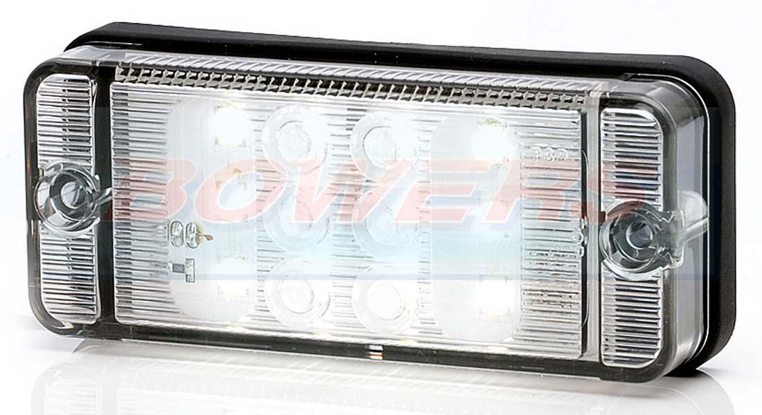 Was W84d 12v 24v Universal Compact Led Rear Reverse Light