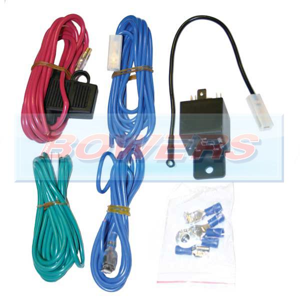 Universal 12v Spot/Fog/Driving Lamp/Light Wiring Kit